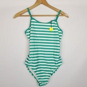 Gap Kids striped girls swimsuit NWT